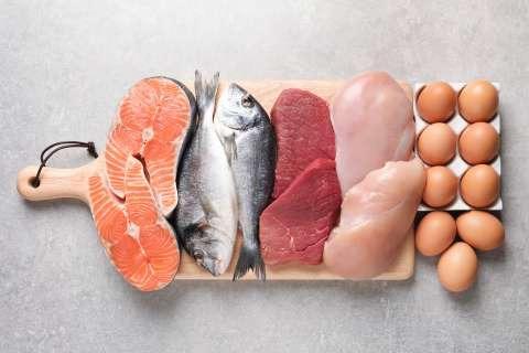 Viandes oeufs et poissons