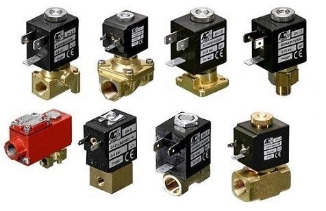 Brass solenoid valves