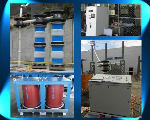 Frequenzvariable Serienresonanz-Anlagen für Hochspannung