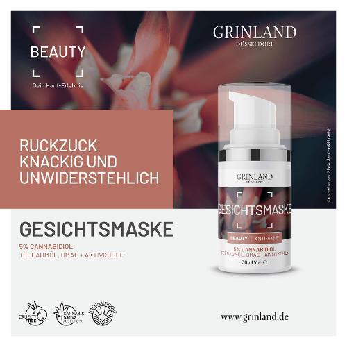 GESICHTSMASKE - Anti-Akne - 30 ml