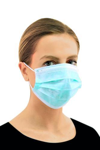 Masque chirurgical jetable 3 plis (boîte de 50 masques)