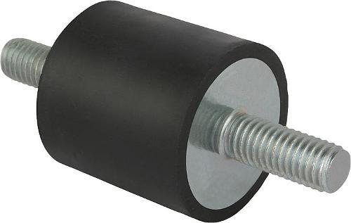 Буфер резинометаллический сталь или нержавеющая сталь, тип А