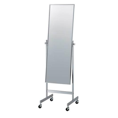Portable Cheval Mirror – Chrome