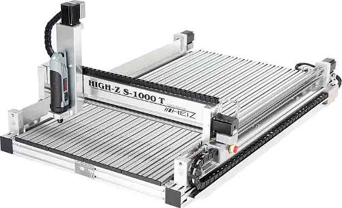 HIGH-Z S-1000/T CNC Fräse