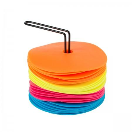 Set of 24 Small Spot Markers in Neon Colors