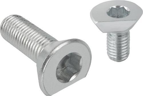 Spiral cam screws
