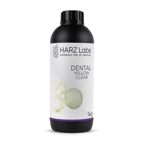 HARZ Labs Dental Yellow Clear Resin (1 kg)
