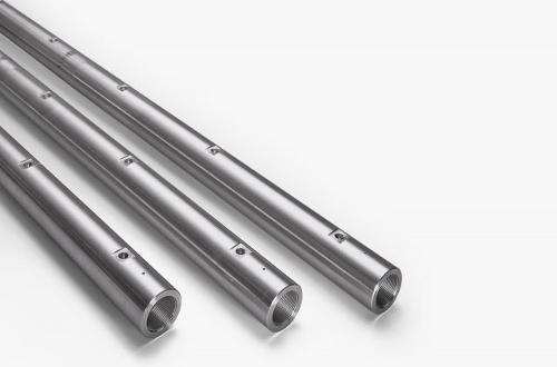Akkumulatoren und Hochdruck-Rails