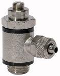 Throttle valve, Both sides throttling ( B ) quick connector