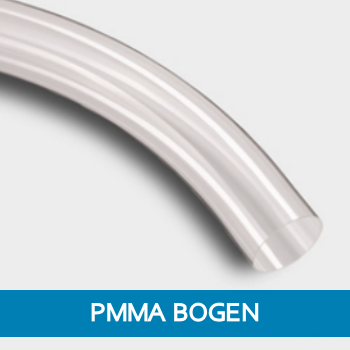PMMA Forwarding Bend 90°