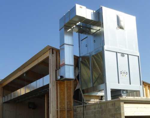 Recyclage - Système D'introduction D'air Recyclé Avec Sonde De Rejet