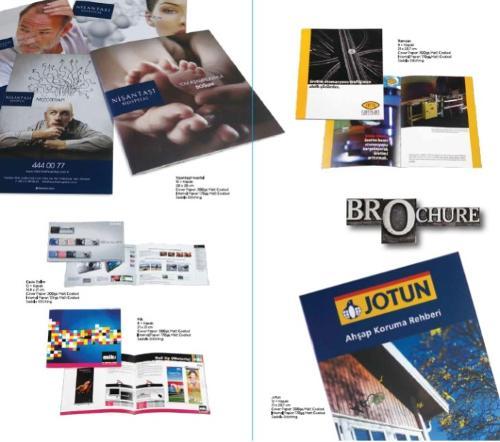 Broşür tasarımı ve baskısı