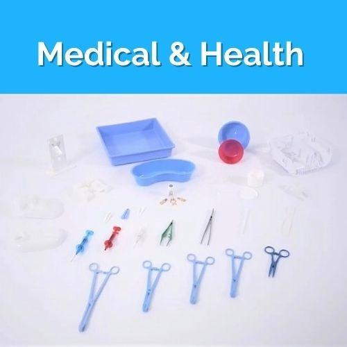 Molds for Medical & Health Parts