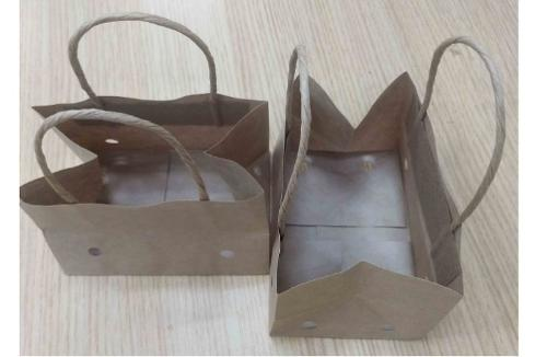 wet strength cherry tomato paper bag with ventilation