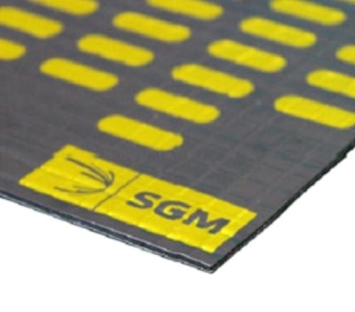 High performance anti-vibration rubber pad sound deadening