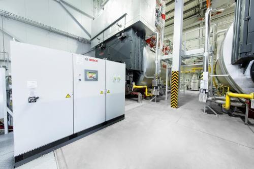 Sistema de control de caldera BCO