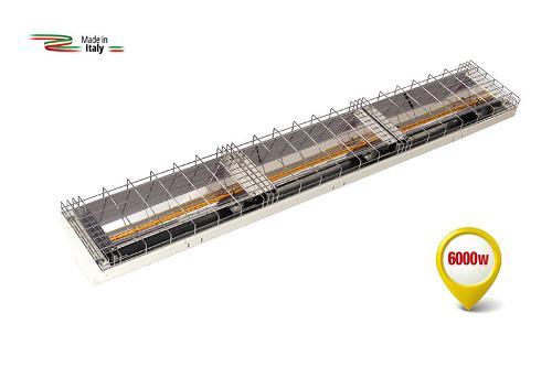 RADIANTE A RAGGI INFRAROSSI ONDA CORTA - Modello: GH-6000