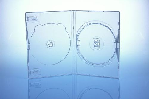 AMARAY DVD Box 2-fach - 14mm - FOF - transparent - bulkware