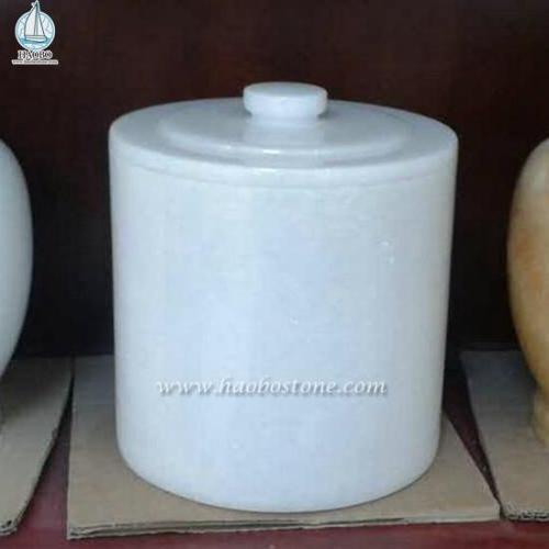 Nature Stone Cemetery Urn For Tombstone Accessories