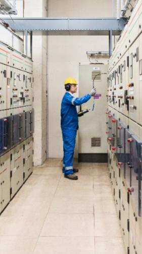 Detectie van defecten in elektrische apparatuur.