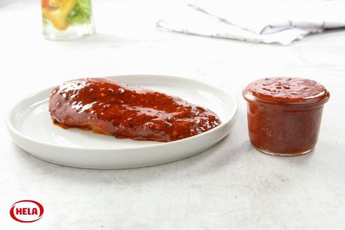 Marinating hot chili oil Natural with sea salt