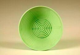 Kunststoffbrotform, rund