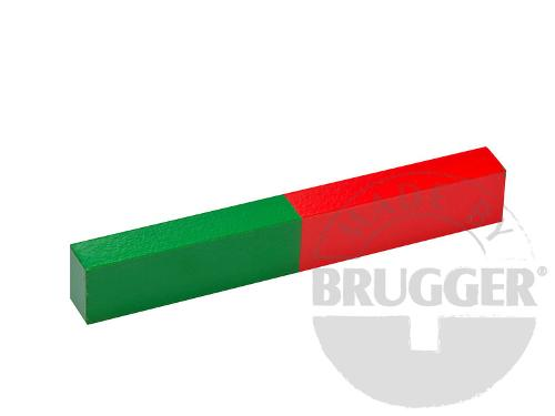 Bar magnet AlNiCo, lacquered