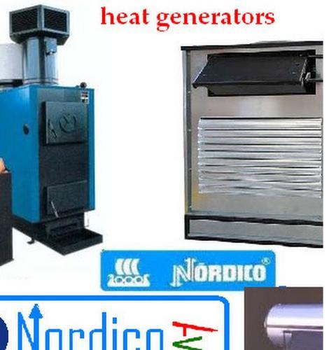 heat generators / geradores de ar quente