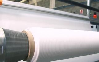 Gaines textiles de climatisation et diffusion d'air