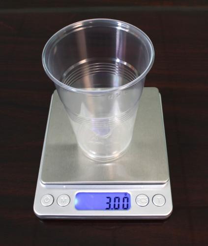 Пластиковый одноразовый стакан 3 гр. 200 мл,