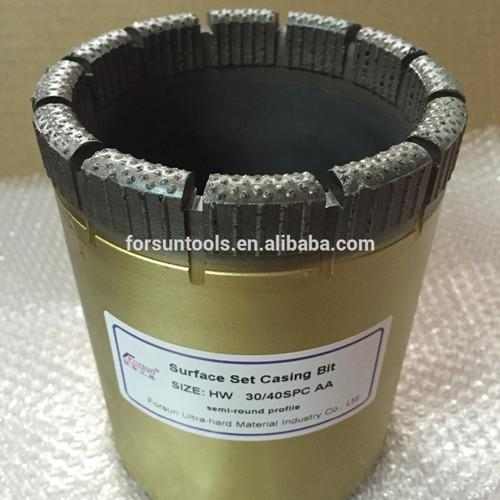 HW Surface Set Diamond Casing Shoe