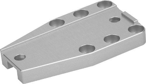 Plaques De Fixation En Aluminium Pour Étaux De Précision