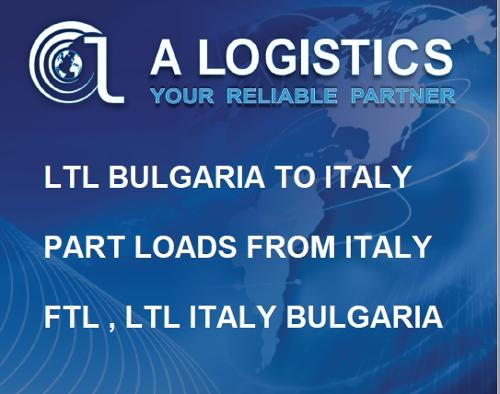 PART LOADS ITALY BULGARIA