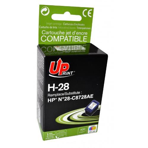 Jet D'encre Uprint H-28- Compatible Hp C8728-n 28- Couleur