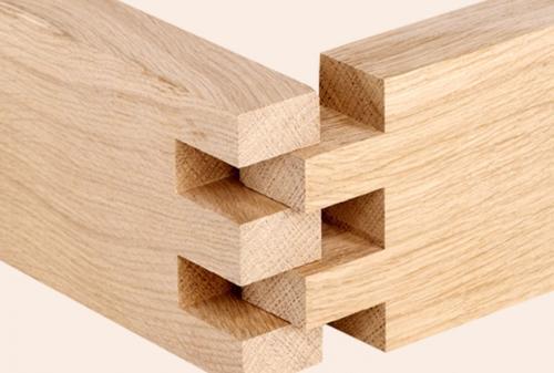 Queues droites en bois