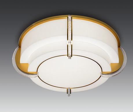 Luxurious art deco ceiling light