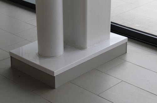 Habillage métallique structure bâtiment