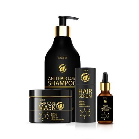 Anti Hair Loss Hair Care Set- Shampoo- Mask-Serum