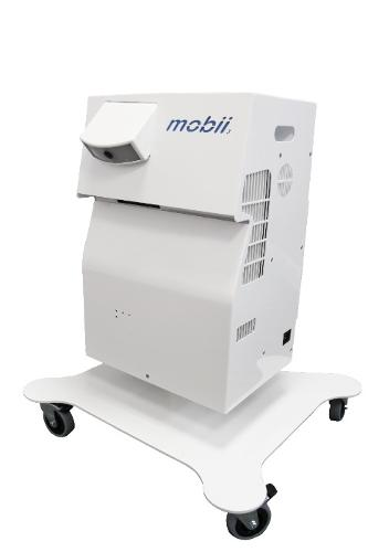 Mobii portable interactive table projector