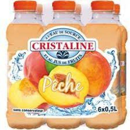 Cristaline Peche 50 Cl Pack 12