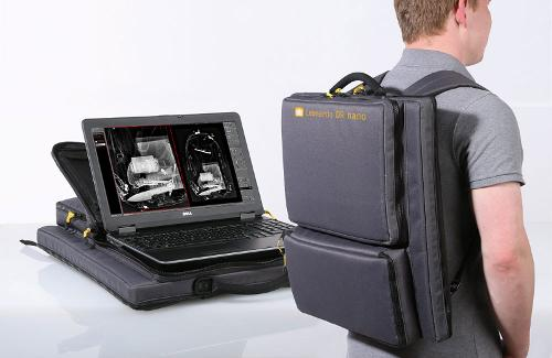 The portable backpack X-ray solution for security operations