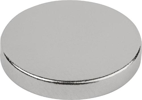 Magnets Raw Ndfeb, Disc Form