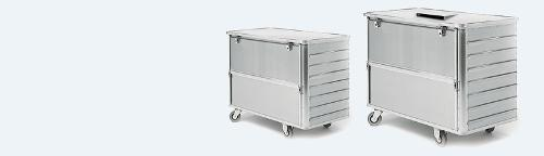 Data disposal containers