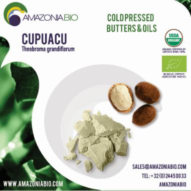 Organic Cupuacu cold pressed Butter