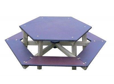 Table De Pique Nique Hexagonale