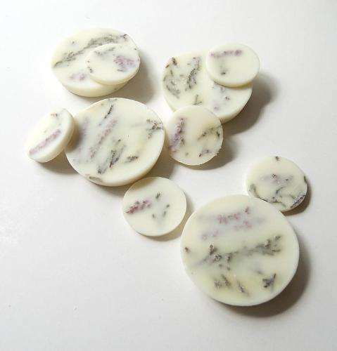 "Heather, Scented Soy Wax Rounds ""5 SENSES"""