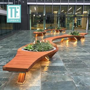 Urban Bench with planter box