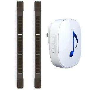 Outdoor anti-theft wireless solar power infrared barrier