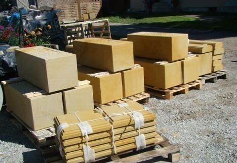 Gotowe wyroby z kamienia