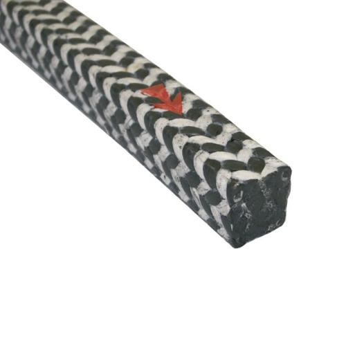 Combination braid of ePTFE Yarn incorporated with Graphite